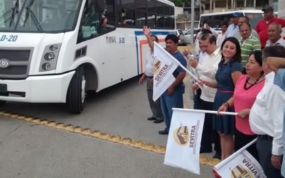 Dina incorpora más unidades en Salina Cruz