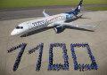 Más del 50% de la flota de Aeroméxico es brasileña