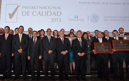SE entrega el Premio Nacional de Calidad 2013