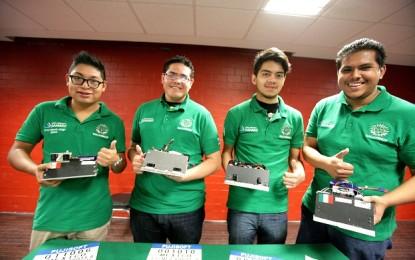 Estudiantes del IPN vencen en competencia robótica a Brasil