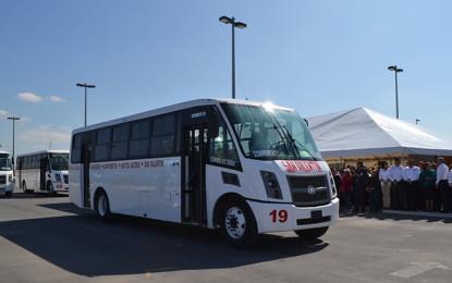 Dina 'mete acelerador' en el transporte sustentable