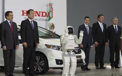 Honda inaugura su planta en Celaya