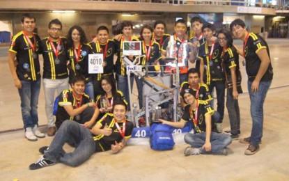 Estudiantes mexicanos figuran en mundial de robótica