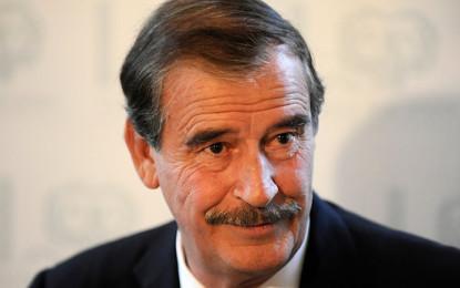 Vicente Fox, presente en el  Congreso Internacional de RH