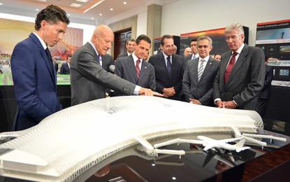 México, plataforma logística con nuevo aeropuerto