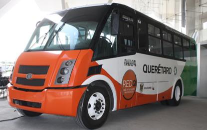 DINA fortalece transporte sustentable en Querétaro