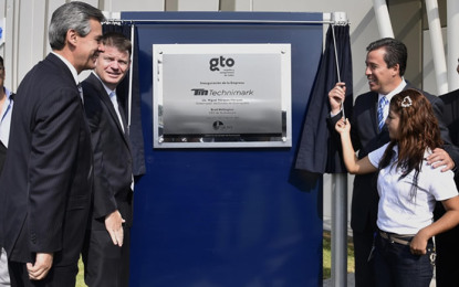 Technimark inaugura planta en Silao