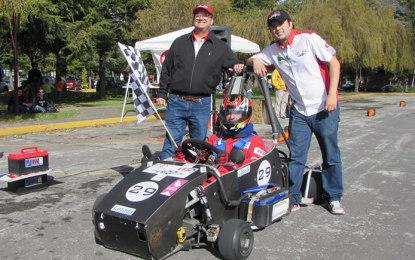UNAM gana carrera de autos eléctricos