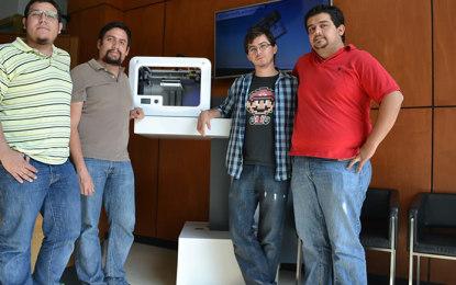 Mexicanos lanzan impresora 3D de bajo costo