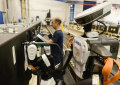 Robots móviles para la industria aeroespacial