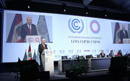 Compromiso en COP20, mitigar contaminantes de vida corta