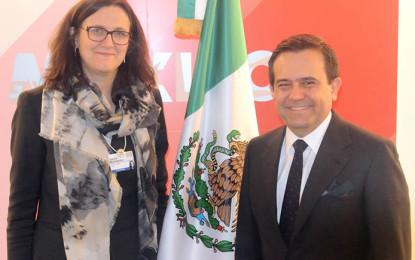 Empresarios refrendan en Suiza interés por invertir en México