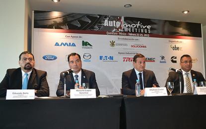 Avances del sector automotriz en Automotive Meetings 2015