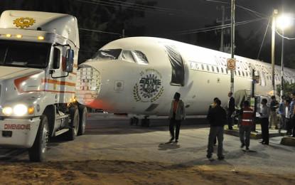 Avión de Airbus para entrenamiento de politécnicos
