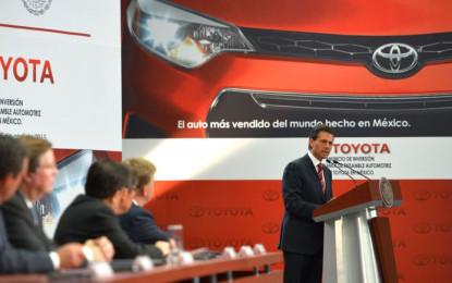 Toyota aplicará nueva tecnología en México