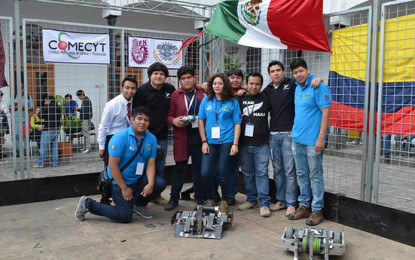 Refrendan politécnicos liderazgo en robótica a nivel internacional