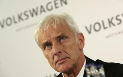 Nombran a Matthias Müller presidente de VWAG; siguen las pérdidas