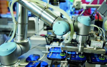 Robótica industrial se acelerará en la próxima década