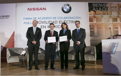 BMW y Nissan, juntos en la carrera de la movilidad eléctrica