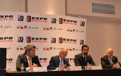 Presentan ExpoManufactura, con buenos augurios para sector manufacturero