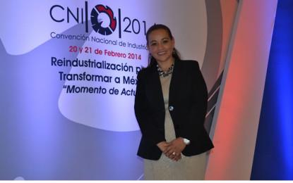 Faustina García da la batalla por la presidencia de Canacintra