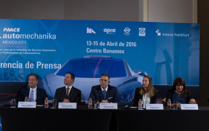 22 países participarán en la INA PAACE Automechanika