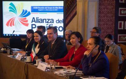 Grupo de alto nivel de la Alianza del Pacífico se reúne en Bogotá