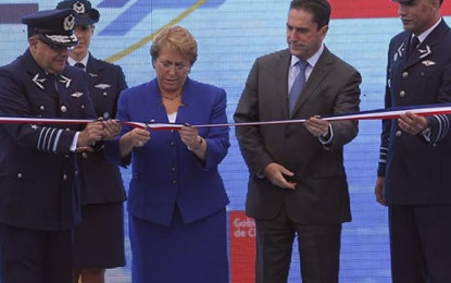 Presentan nuevos aviones y tecnología de Drones en Fidae