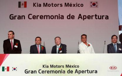 Kia producirá dos modelos en México