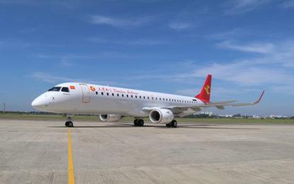 Embraer lidera la industria de la aviación regional china