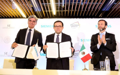 Siemens anuncia inversión en México por 200 mdd