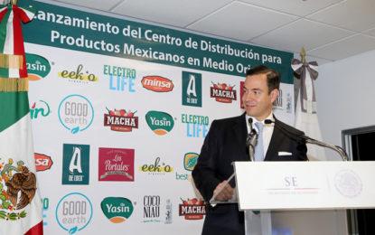 Productos mexicanos con fuerza en Medio Oriente