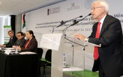 México por la especialización en acuerdos comerciales