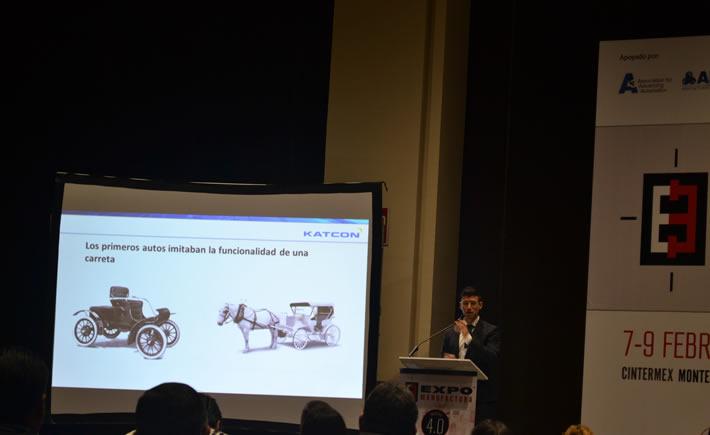 Azael Cortes, participó en la pasada edición de ExpoManufactura 2017 con la conferencia: Manufactura aditiva en México. (Foto: Vanguardia Industrial)