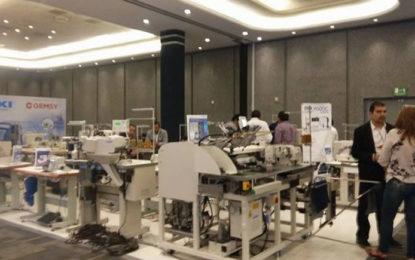 Maquinaria del sector textil con 15 años de atraso