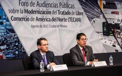 Preocupa a sectores del país perder el libre arancel del TLCAN