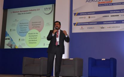 Arranca Aerospace Meetings en Querétaro