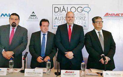 Industria automotriz expone sus prioridades de cara al nuevo gobierno
