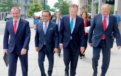 Alcanzan acuerdo Estados Unidos y México