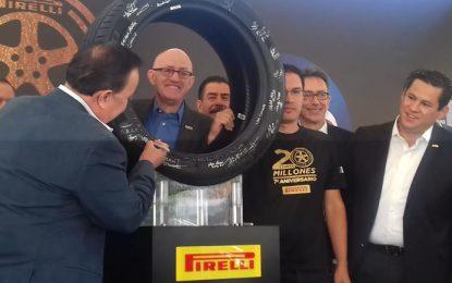 Planta de Pirelli en México, referente a nivel mundial