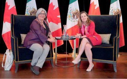 Acuerdan México y Canadá fortalecer lazos comerciales