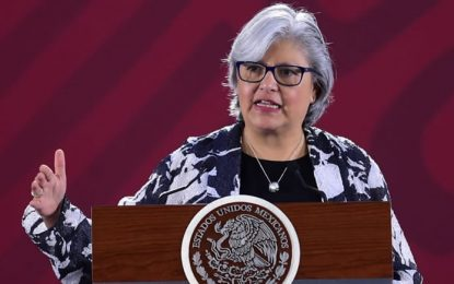 Arancel al acero estructural es provisional, aclara Graciela Márquez