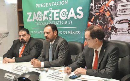 Crearán Clúster automotriz en Zacatecas y  llegará más inversión