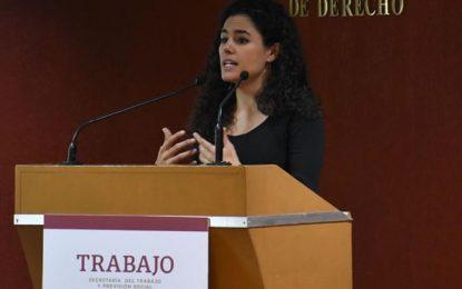 Hay presupuesto suficiente para garantizar la reforma laboral: Luisa María Alcalde