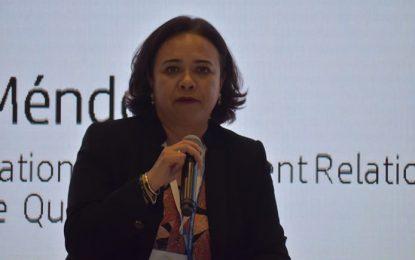 """""""Corresponde a la mujer estar 'a la altura"""" en la industria aeroespacial: Beatriz Aguilar"""