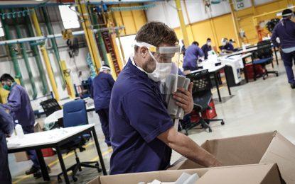 Interrupción de cadenas de suministro y bajo consumo, factores que pesan en las expectativas industriales